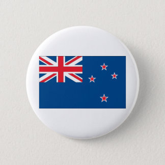 New Zealand Flag 6 Cm Round Badge