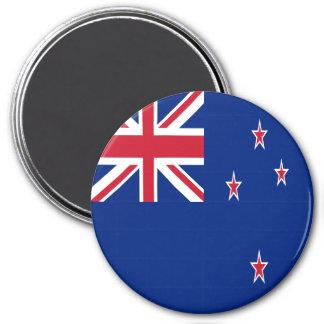New Zealand Flag 7.5 Cm Round Magnet