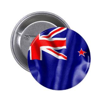 New Zealand Flag 2 Inch Round Button