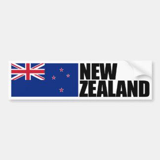 New Zealand Flag Bumper Sticker