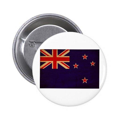 New Zealand Flag Buttons