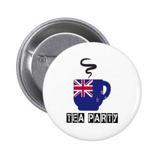 New Zealand Flag Designs 2 Inch Round Button