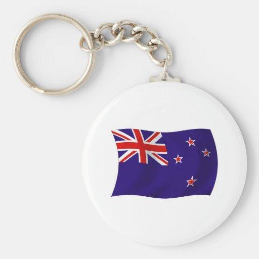 New Zealand Flag Keychain