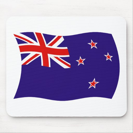 New Zealand Flag Mousepad