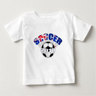 New Zealand Flag soccer ball Artwork Baby T-Shirt