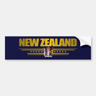 """New Zealand Gold"" Bumper Sticker"