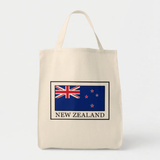 New Zealand Grocery Tote Bag
