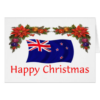 New Zealand Happy Christmas Card
