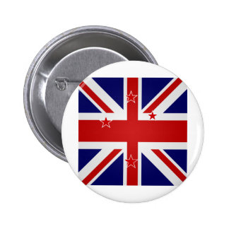 New Zealand High quality Flag Button