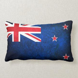 New Zealand; Kiwi Flag Lumbar Cushion
