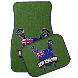 New Zealand Lacrosse Logo Floor Mat
