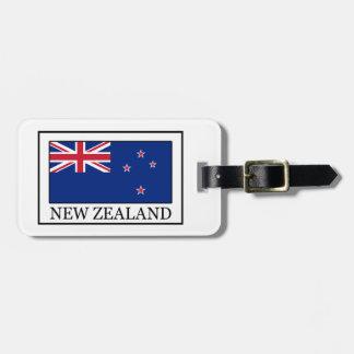 New Zealand Luggage Tag
