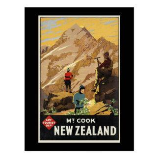 New Zealand Mount Cook Postcard