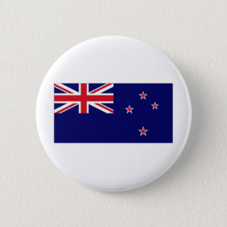 New Zealand National Flag 6 Cm Round Badge