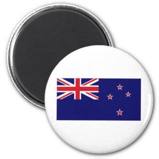 New Zealand National Flag 6 Cm Round Magnet