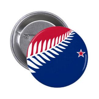 New Zealand, New Zealand 6 Cm Round Badge