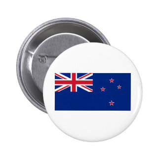 New Zealand NZ 6 Cm Round Badge