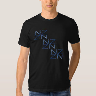 New Zealand NZ Symbol Patriotic Shirt