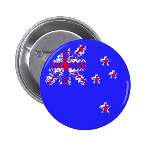 New Zealand on Blue Buttons
