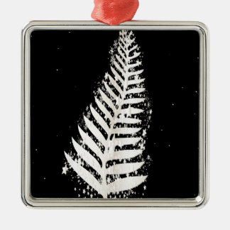 New Zealand SIlver Fern Christmas Tree Christmas Ornament