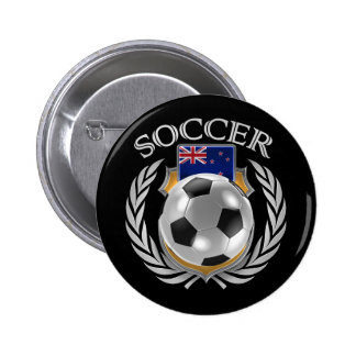New Zealand Soccer 2016 Fan Gear 6 Cm Round Badge