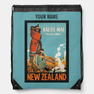 New Zealand vintage travel bag