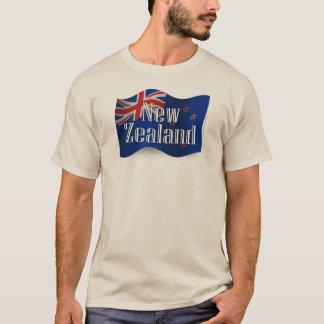 New Zealand Waving Flag T-Shirt