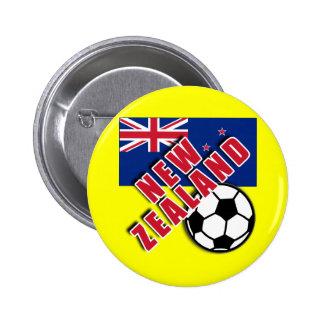 NEW ZEALAND World Soccer Fan Tshirts Pins
