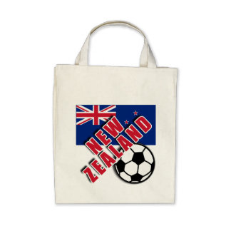 NEW ZEALAND World Soccer Fan Tshirts Canvas Bag