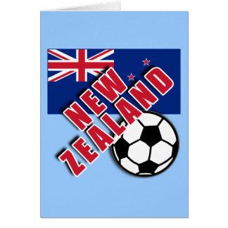 NEW ZEALAND World Soccer Fan Tshirts Greeting Cards