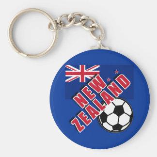 NEW ZEALAND World Soccer Fan Tshirts Keychains