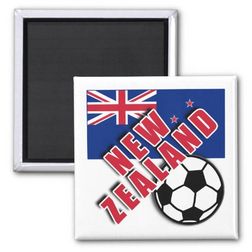 NEW ZEALAND World Soccer Fan Tshirts Magnets