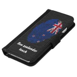 New Zealander touch fingerprint flag iPhone 6 Wallet Case