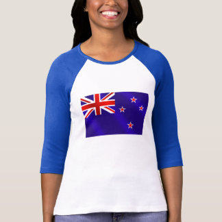 New Zealanders flag of New Zealand Kiwi gifts T-Shirt