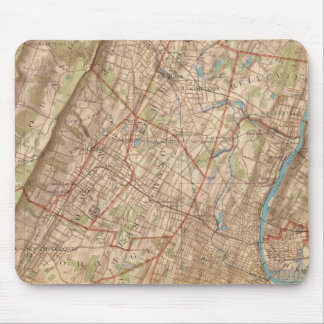 Newark and Elizabeth, New Jersey Mouse Pad