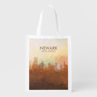 Newark, New Jersey Skyline IN CLOUDS