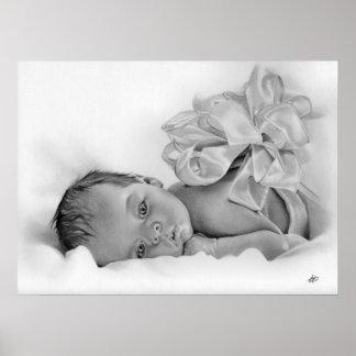 Newborn Baby Gift Poster
