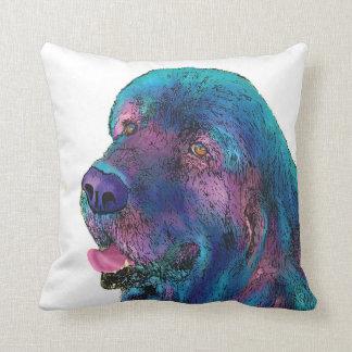 Newfoundland Dog Cushion