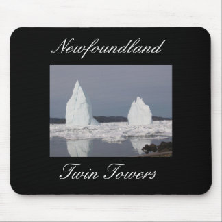 Newfoundland Twin Towers Mouse Pad