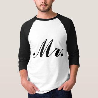 Newlywed Mr. Raglan T-shirt