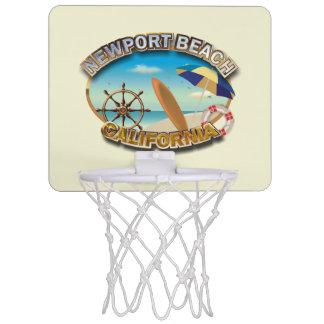Newport Beach, California Mini Basketball Hoop