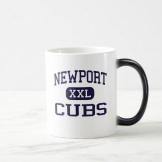 Newport - Cubs - High School - Newport Oregon Magic Mug