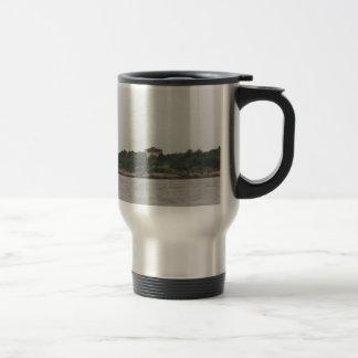 Newport mansion travel mug