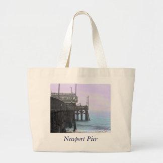 Newport Pier - Tinted Photo Bag