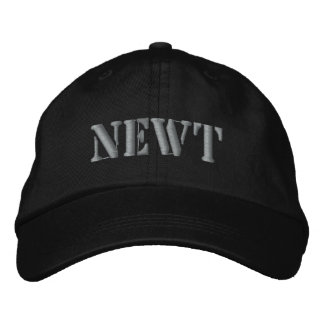 NEWT EMBROIDERED BASEBALL CAPS