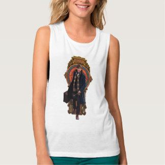 NEWT SCAMANDER™ Walking Art Nouveau Panel Singlet