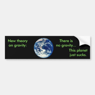 Newton's New Law Bumper Sticker