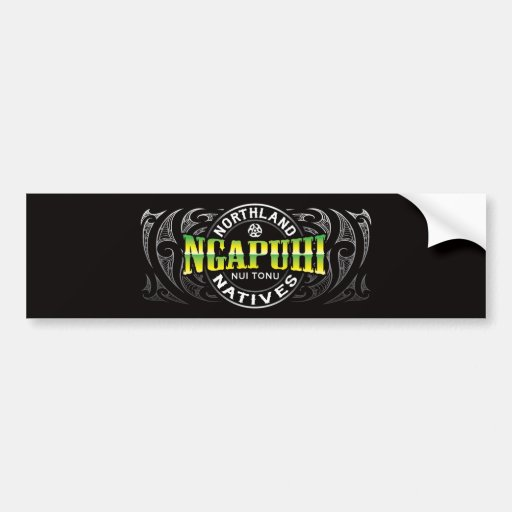 Ngapuhi Lifer Chrome Bumper Sticker
