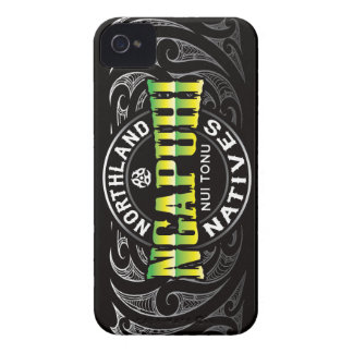 Ngapuhi Lifer Chrome Case-Mate iPhone 4 Cases