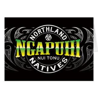 Ngapuhi Lifer Chrome Greeting Card